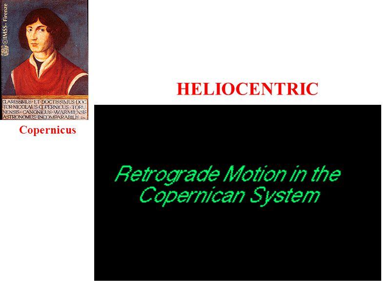 HELIOCENTRIC Copernicus