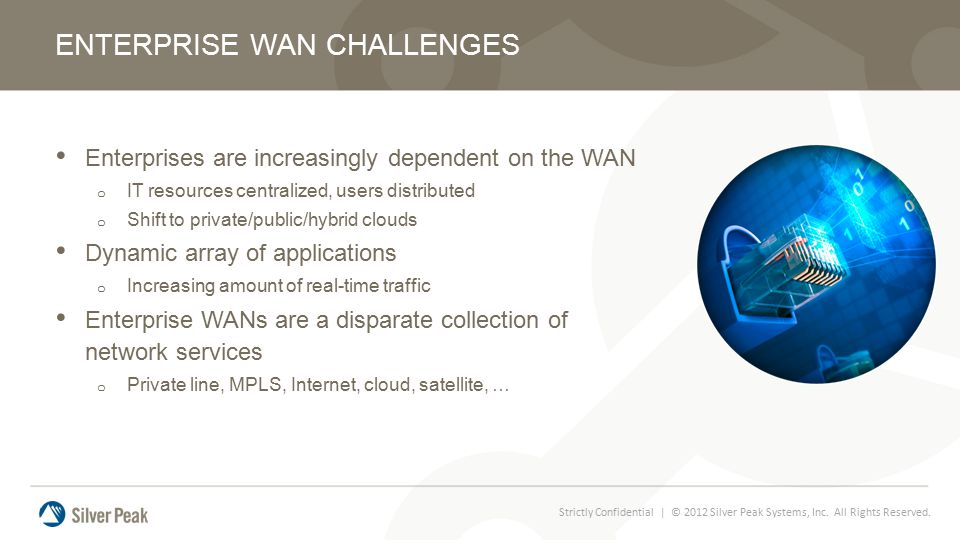 ENTERPRISE WAN CHALLENGES