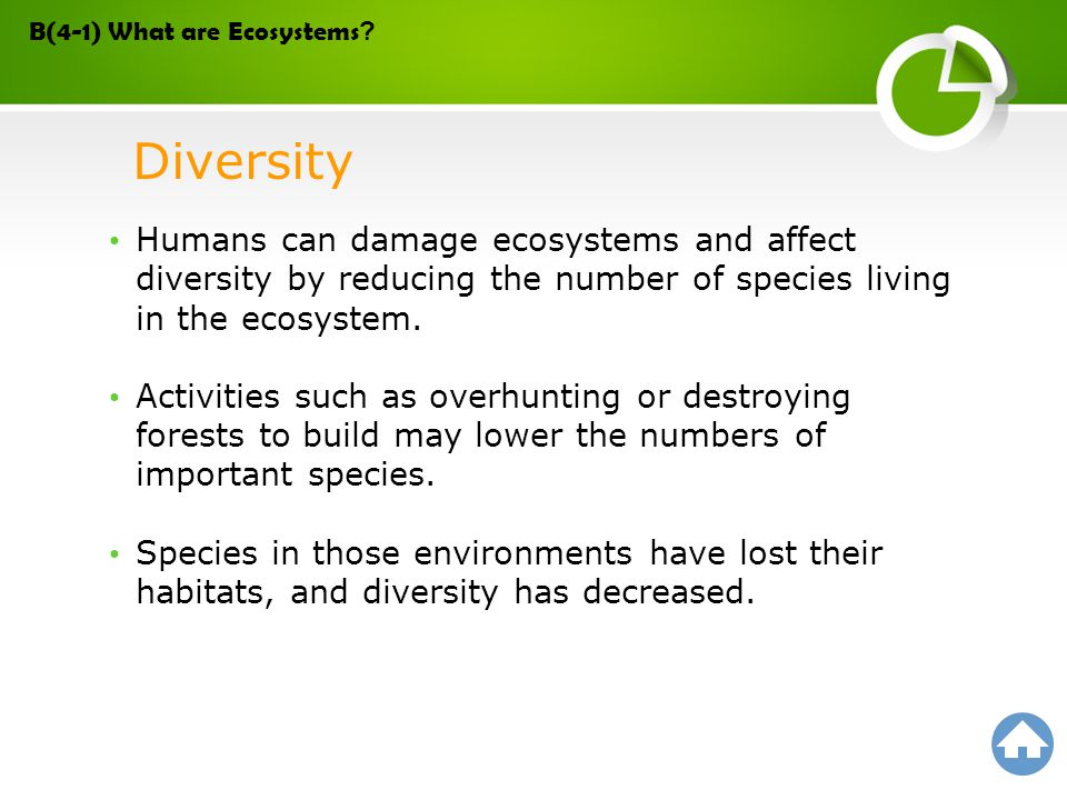 B(4-1) What are Ecosystems