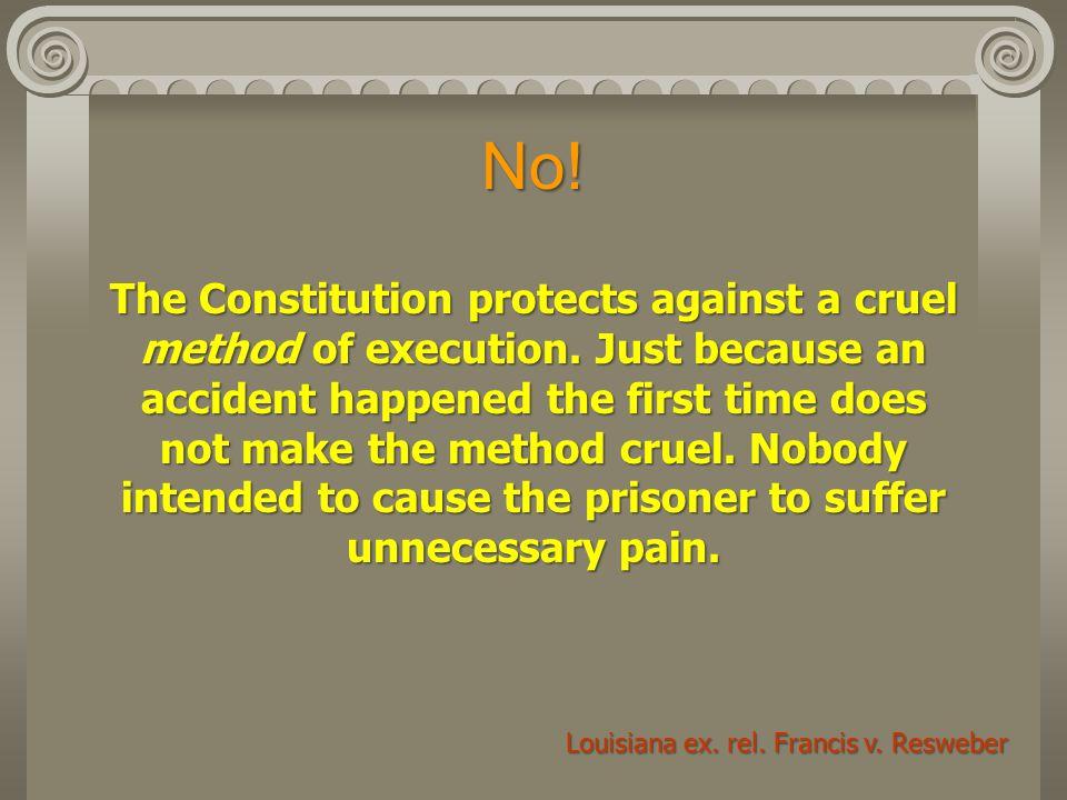 Louisiana ex. rel. Francis v. Resweber