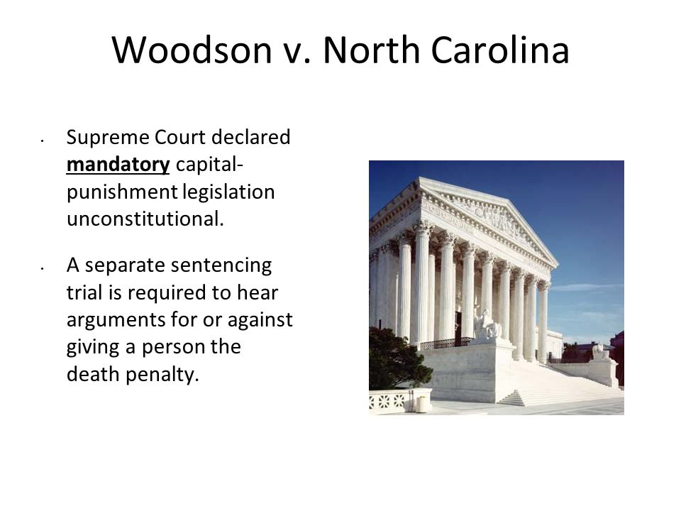Woodson v. North Carolina