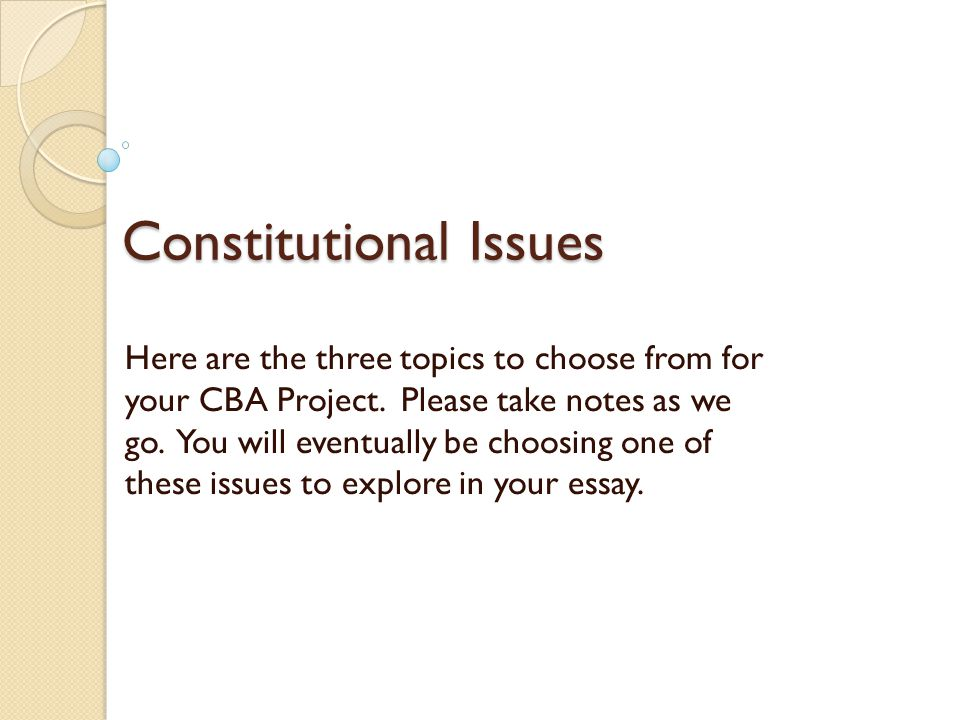 constitutional law essay questions This prep test gives you 30 multiple-choice questions on constitutional law to assist you in becoming familiar with the kinds of constitutional law questions that appear on the mbe.