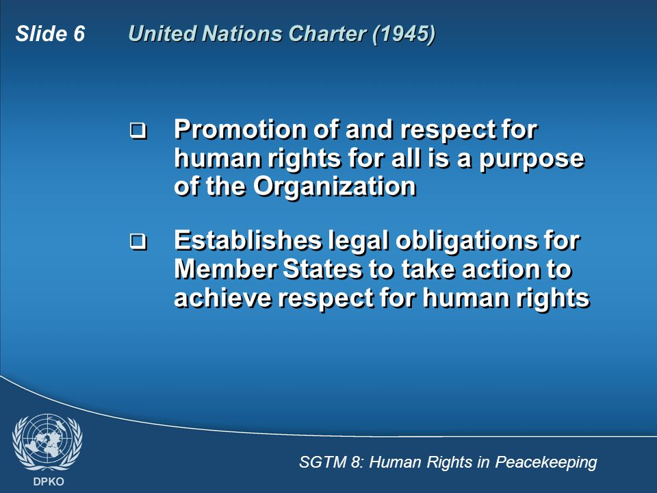 United Nations Charter (1945)