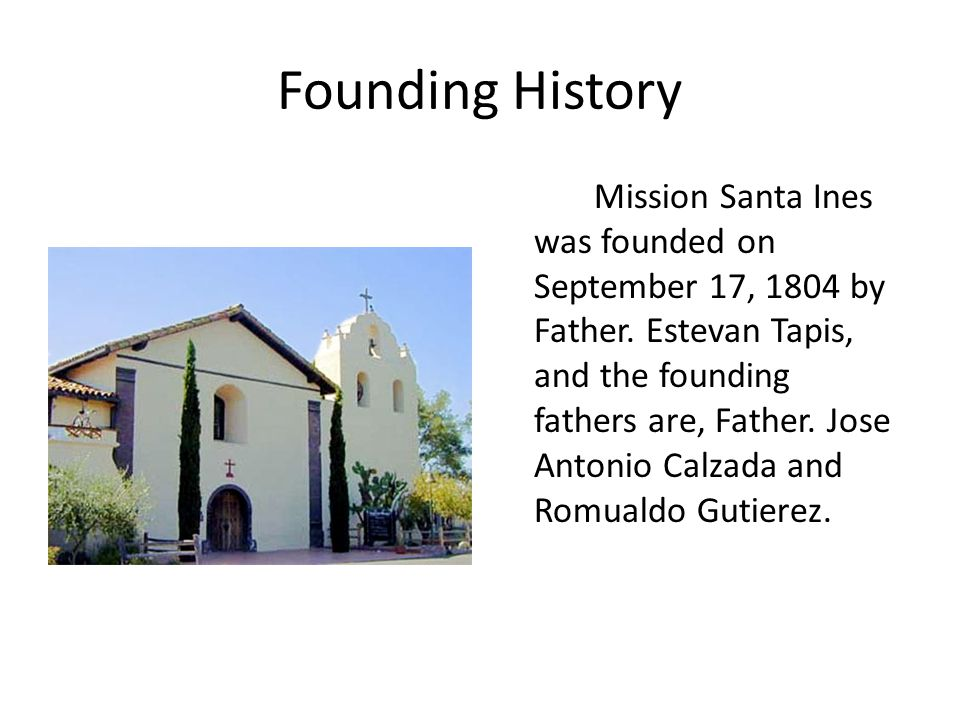 Founding History