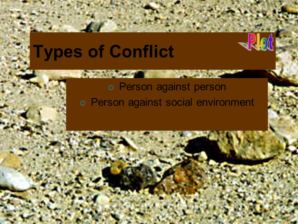 Person against social environment
