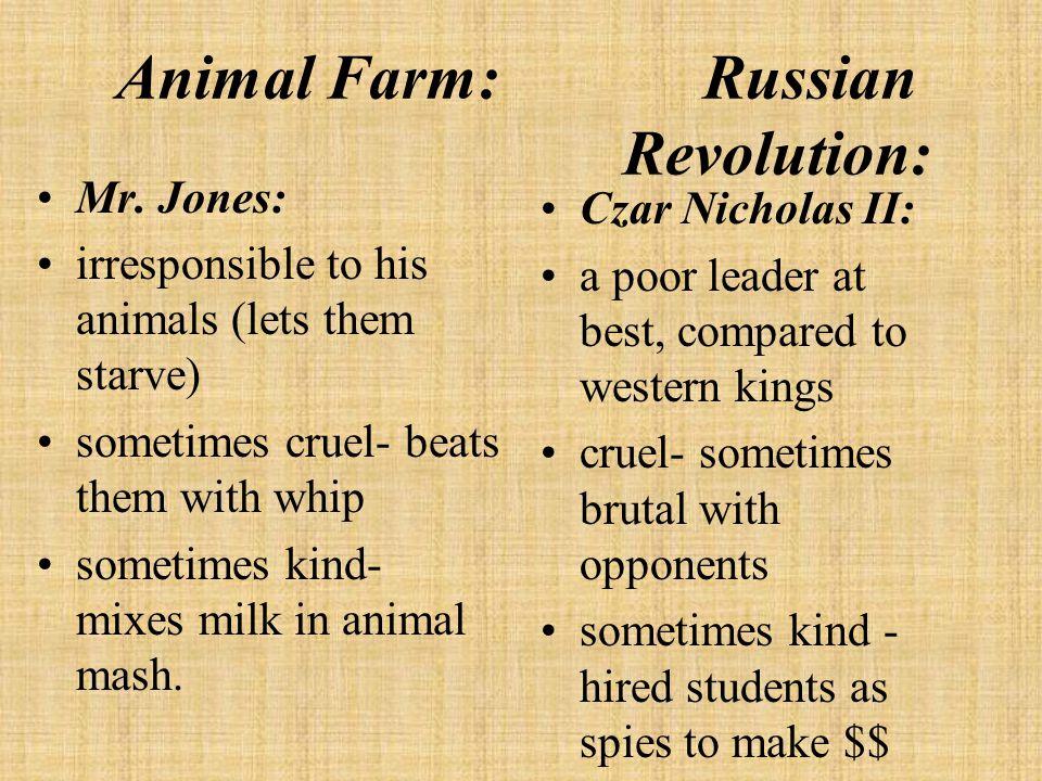 Animal Farm: Russian Revolution: