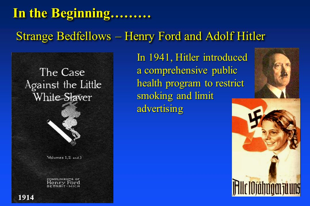 In the Beginning……… Strange Bedfellows – Henry Ford and Adolf Hitler