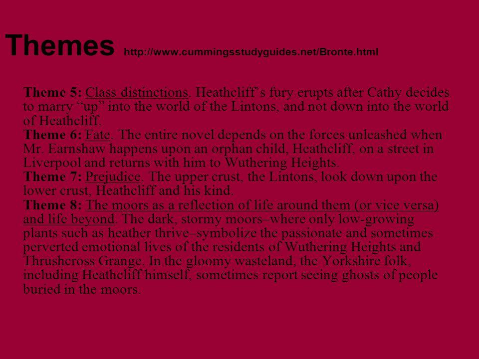 Themes http://www.cummingsstudyguides.net/Bronte.html