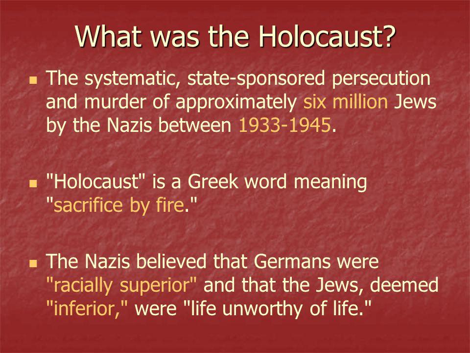 six million jews