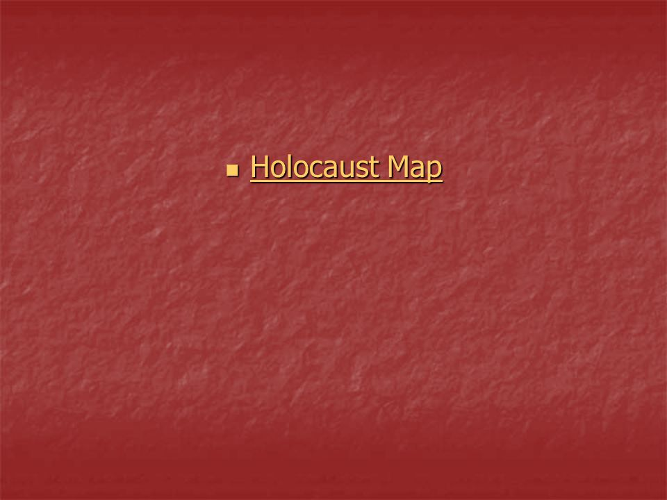 Holocaust Map
