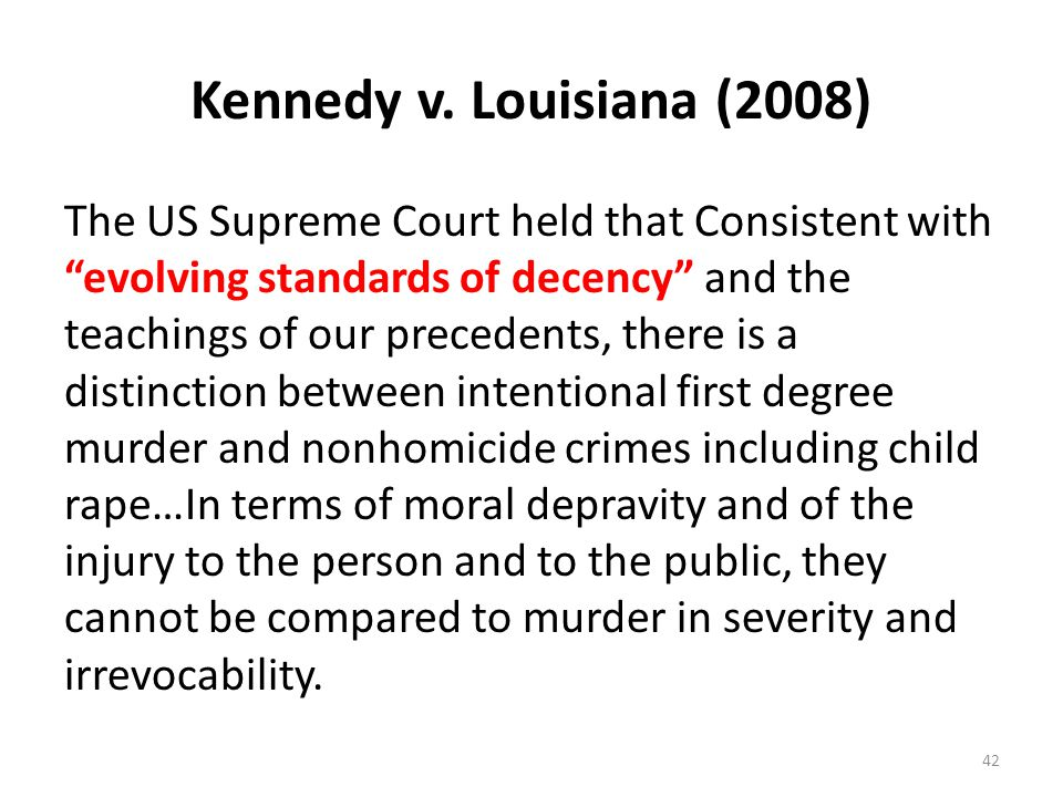 Kennedy v. Louisiana (2008)