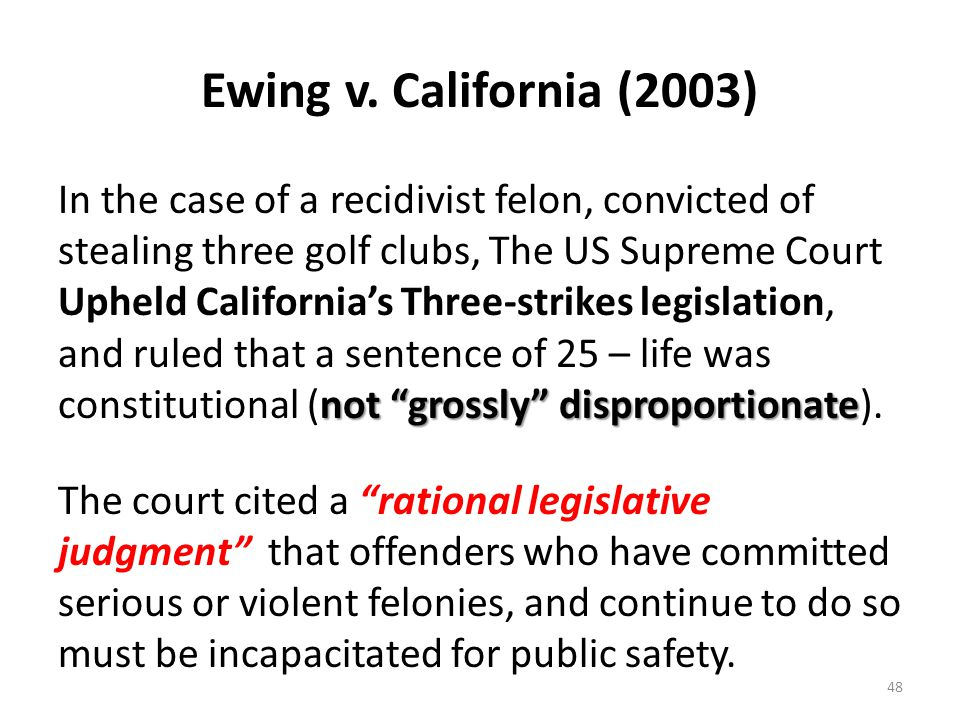 Ewing v. California (2003)