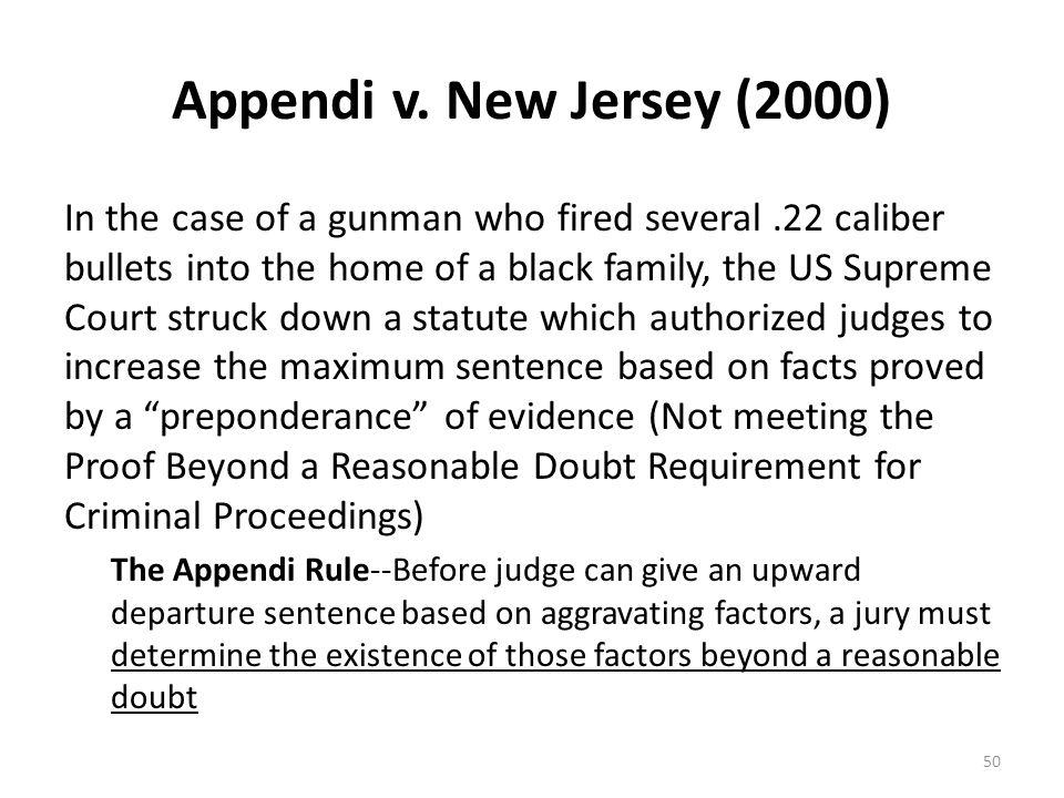 Appendi v. New Jersey (2000)
