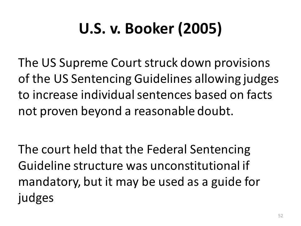 U.S. v. Booker (2005)