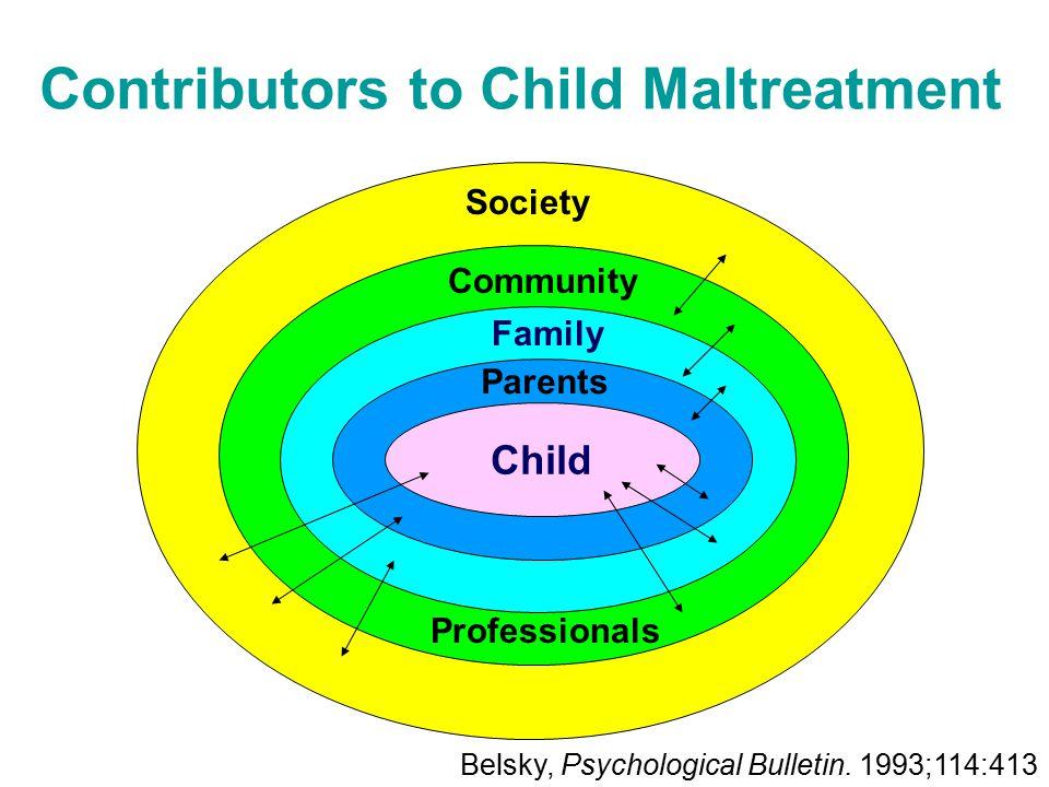 Contributors to Child Maltreatment