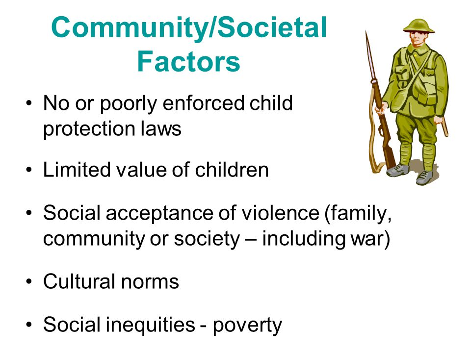 Community/Societal Factors