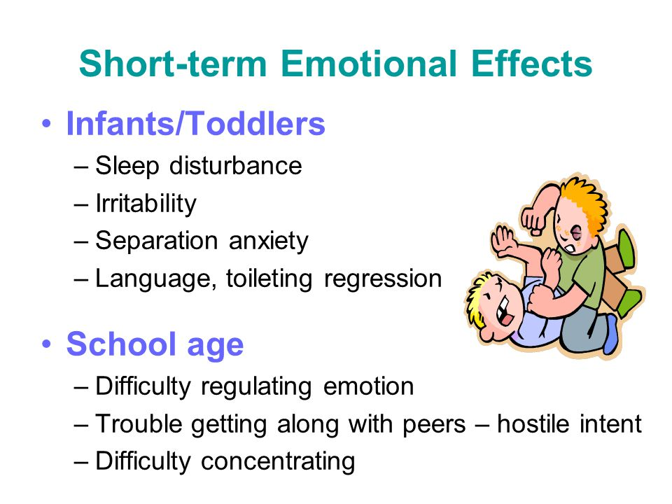 Short-term Emotional Effects