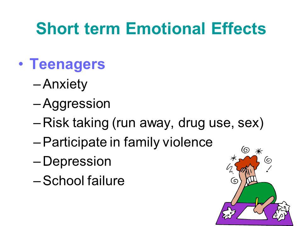 Short term Emotional Effects