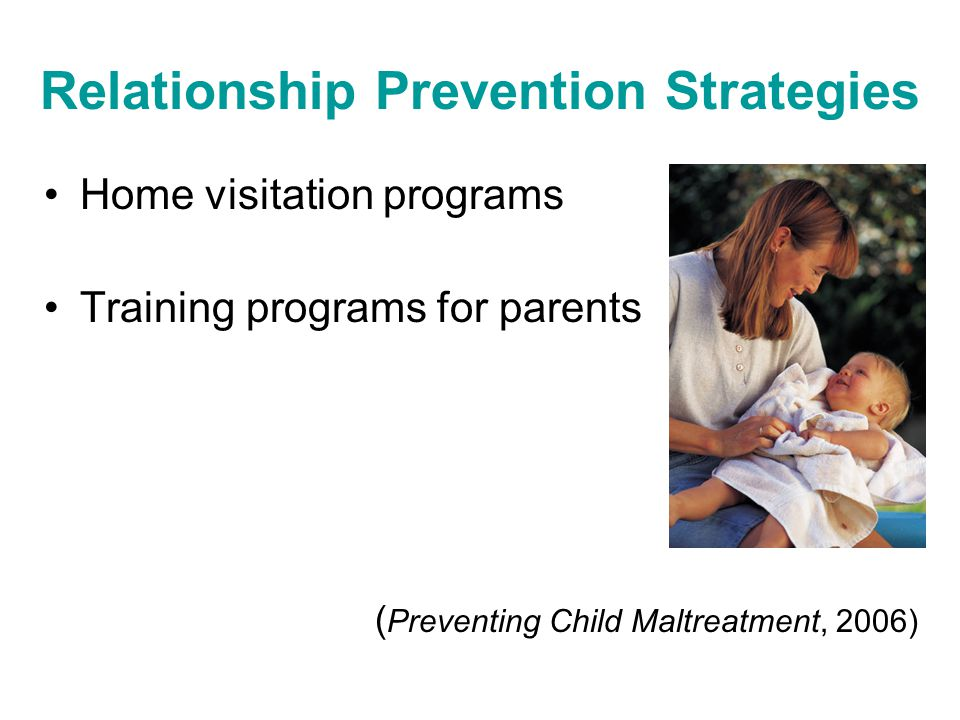 Relationship Prevention Strategies