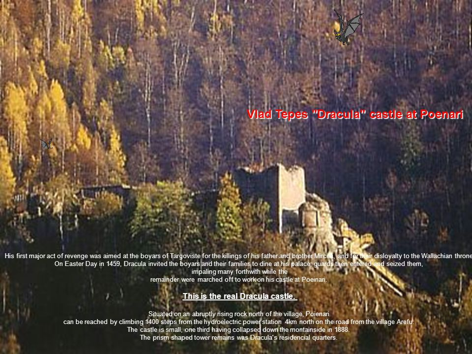 This is the real Dracula castle.