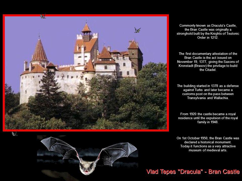 Vlad Tepes Dracula - Bran Castle
