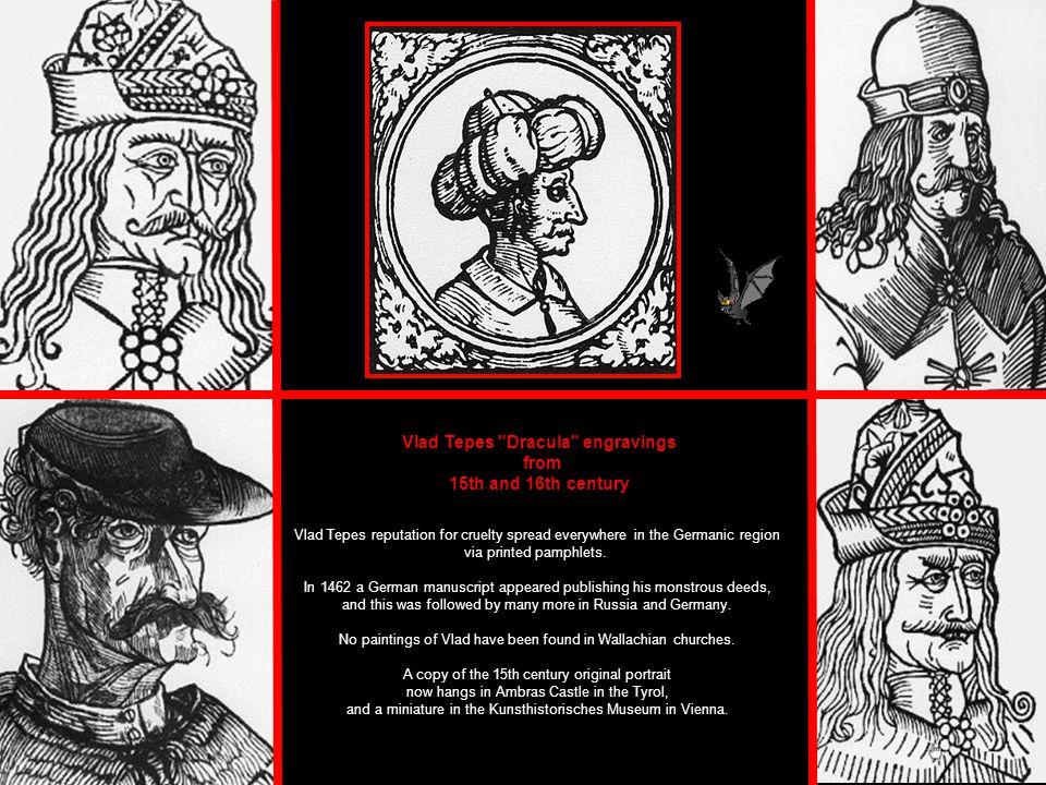 Vlad Tepes Dracula engravings
