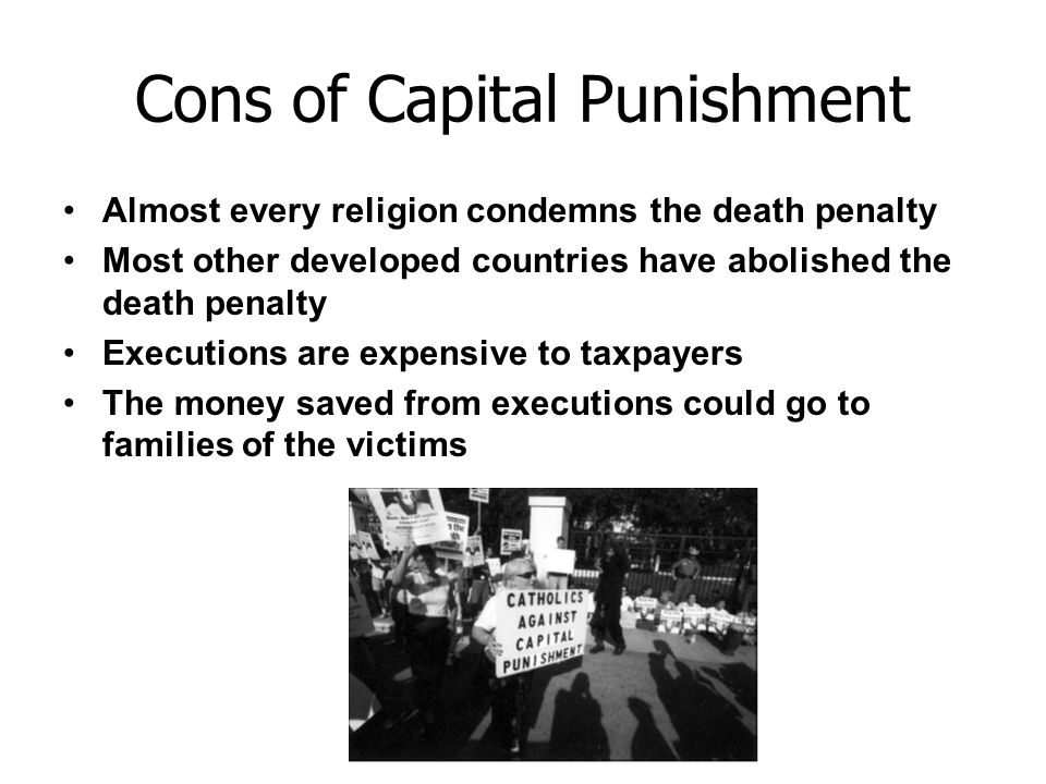 essay of death penalty