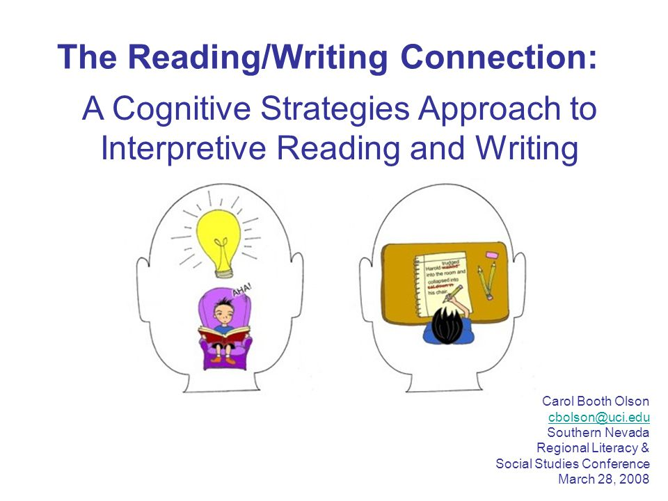 A Cognitive Strategies Approach to Interpretive Reading and Writing