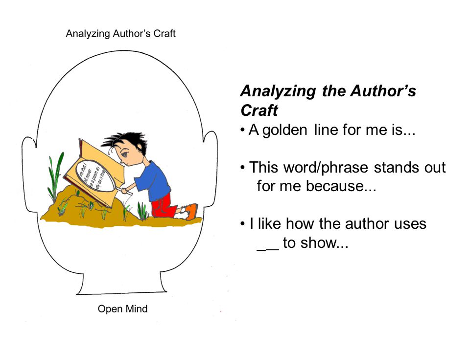 Analyzing the Author's Craft