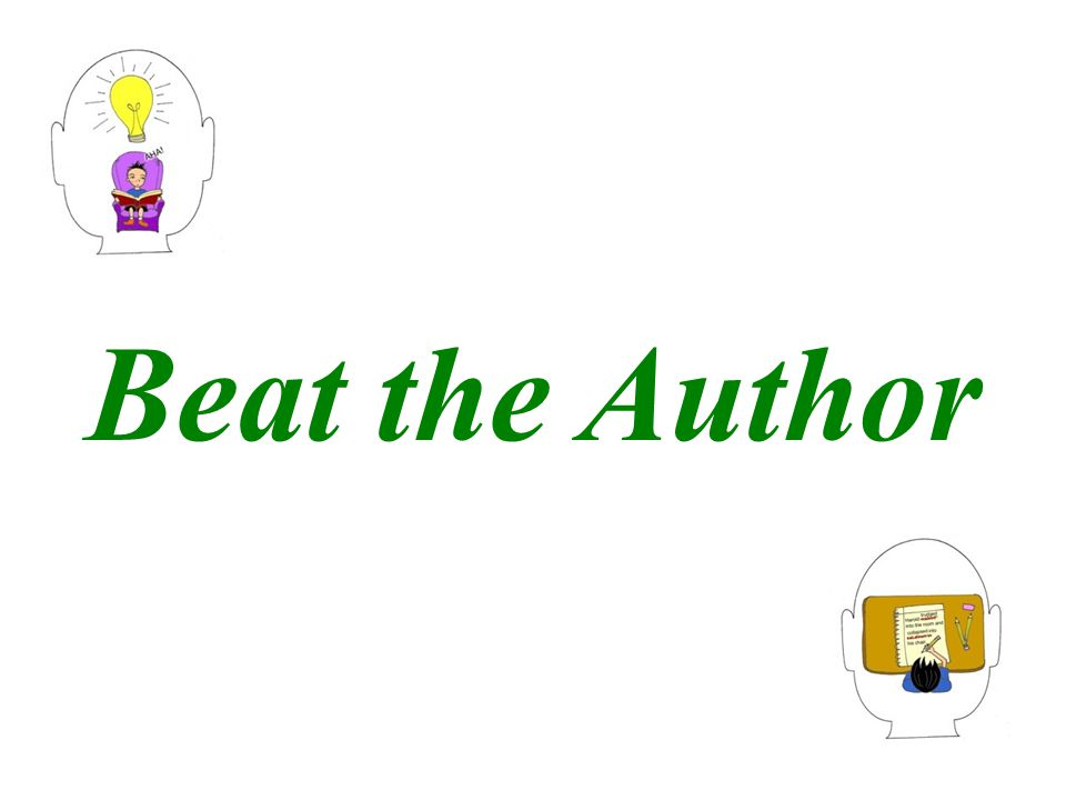 Beat the Author