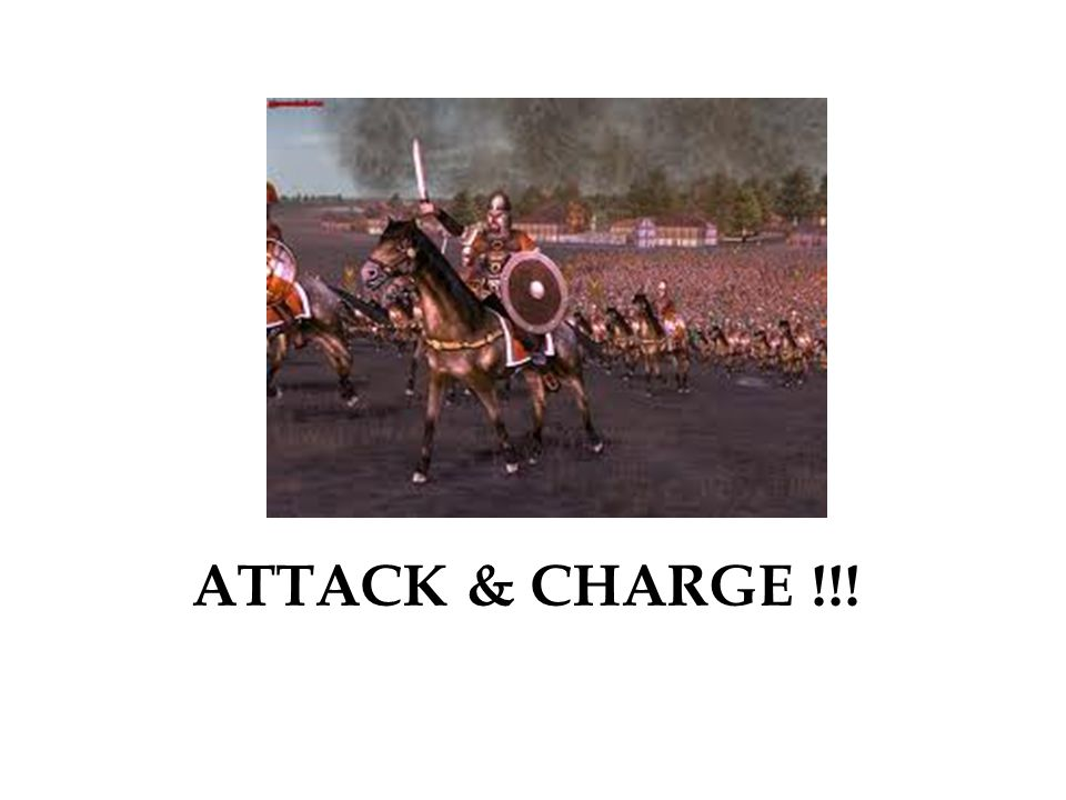 ATTACK & CHARGE !!!