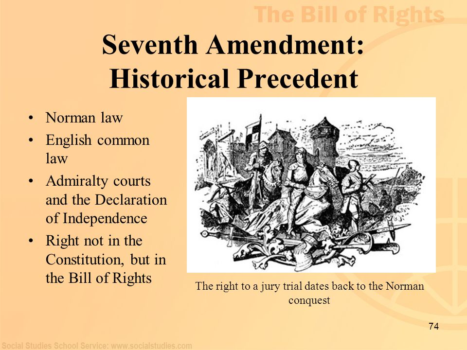 Seventh Amendment: Historical Precedent