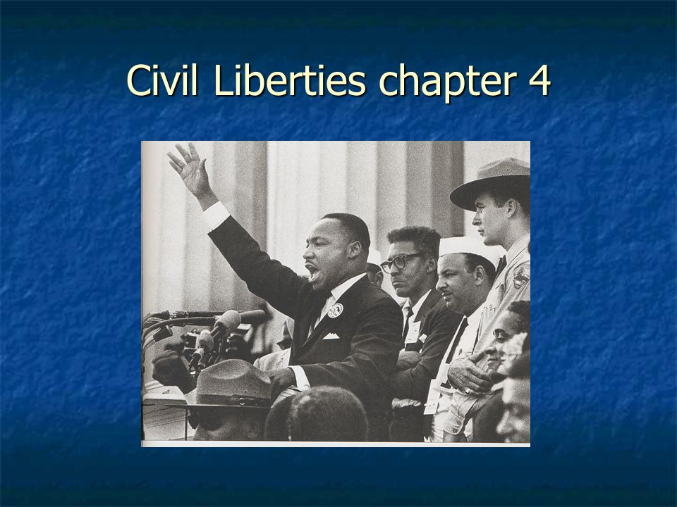 Civil Liberties chapter 4