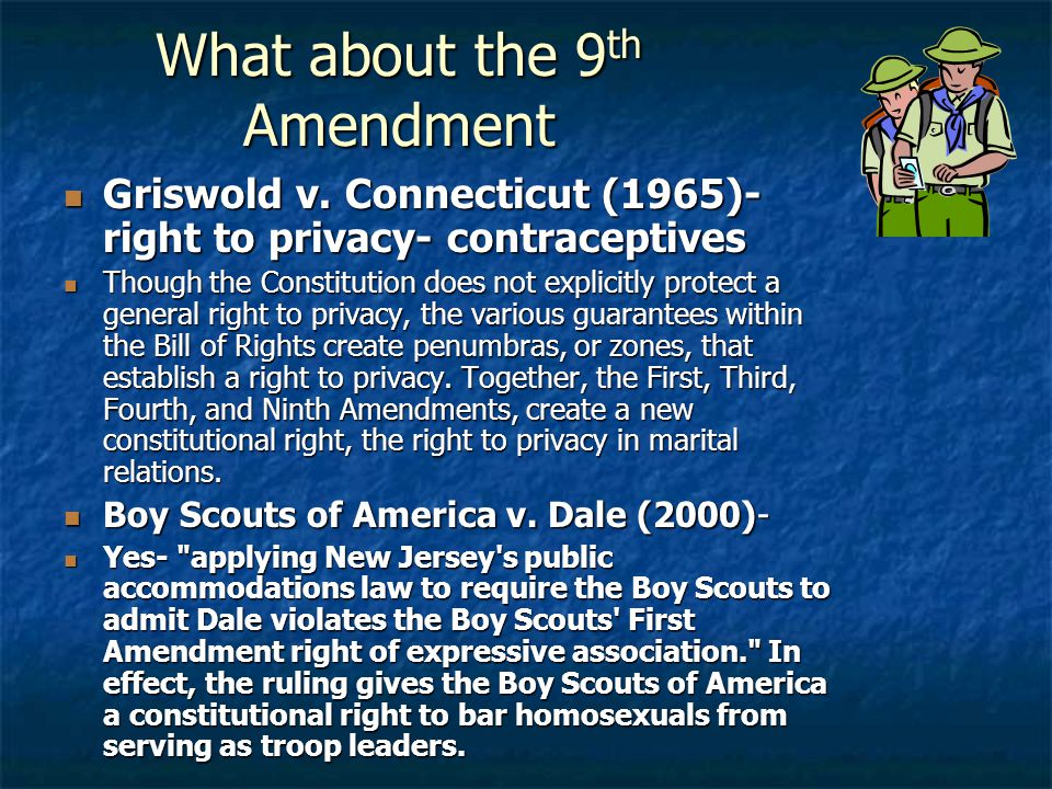 What about the 9th Amendment