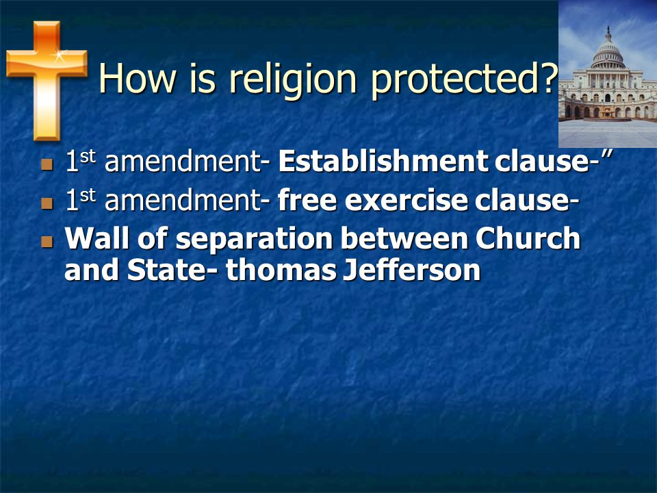 How is religion protected