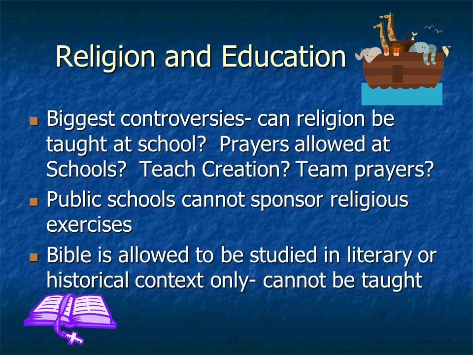 Religion and Education
