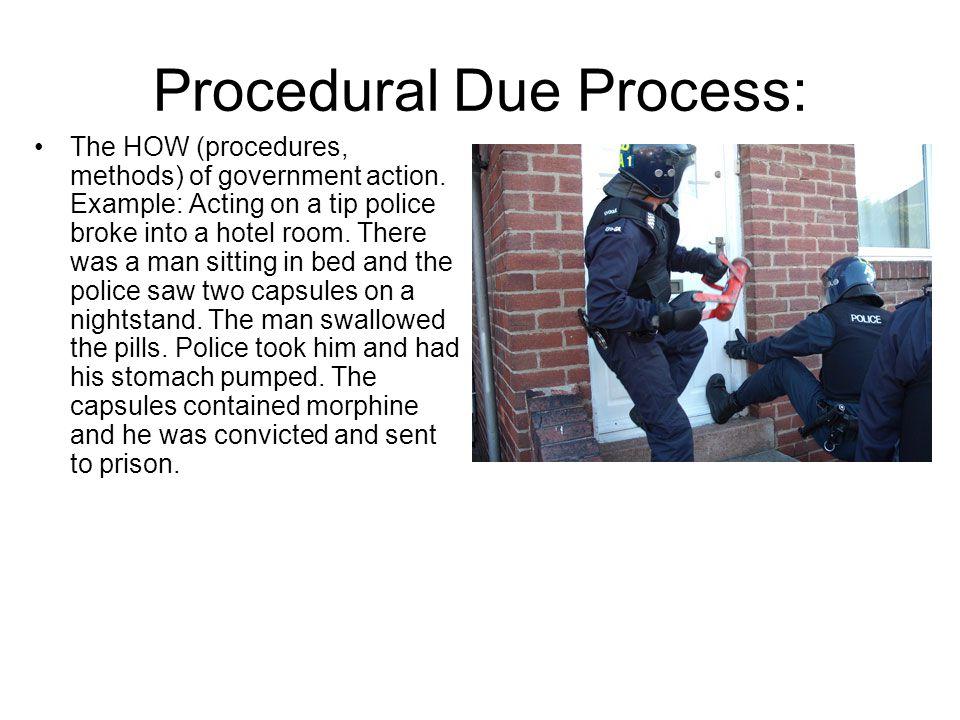 Procedural Due Process: