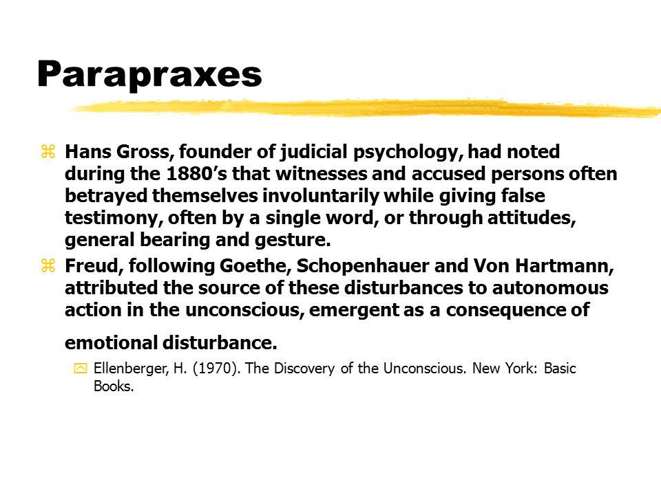 Parapraxes