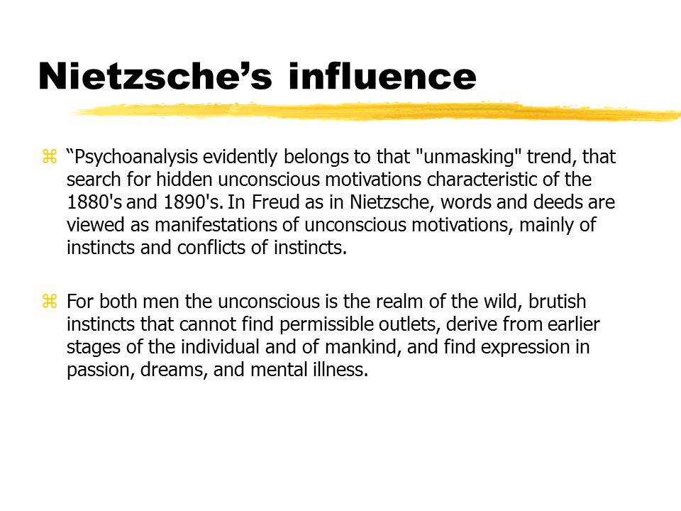 Nietzsche's influence