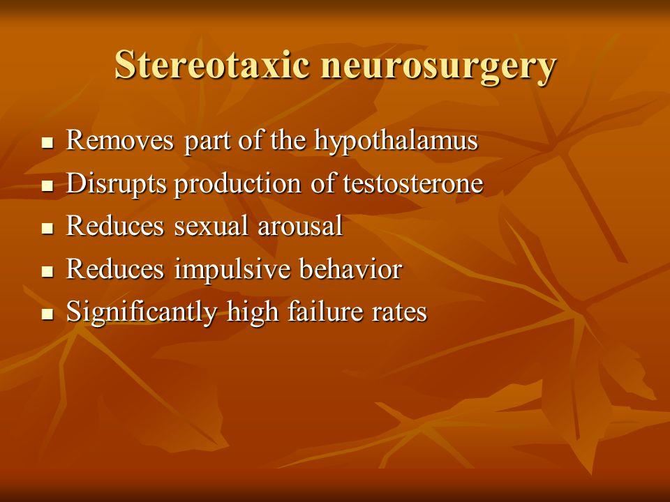 Stereotaxic neurosurgery