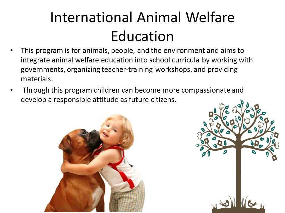 International Animal Welfare Education