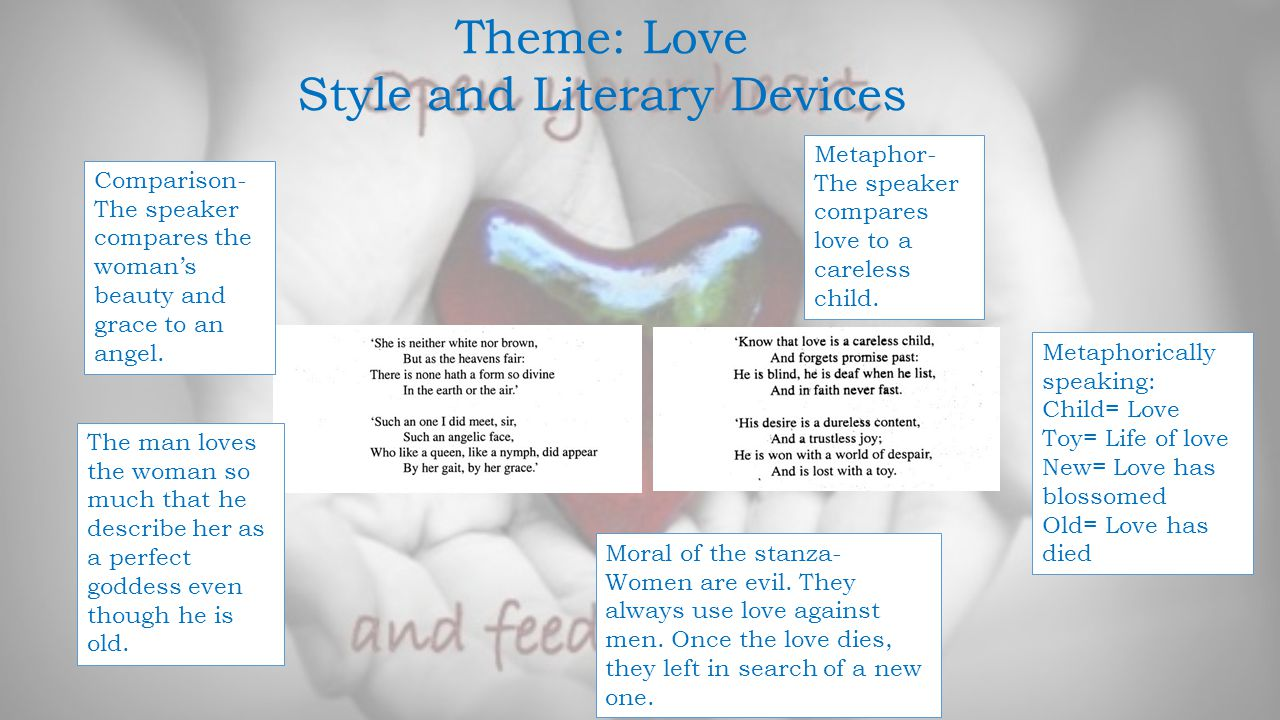 style literary device Writing style can change depending on the subject matter, but the voice used in  writing is the writer's alone sentence structures, literary devices, and ideas,.