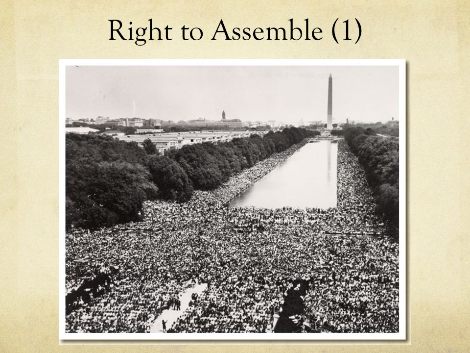 Right to Assemble (1)