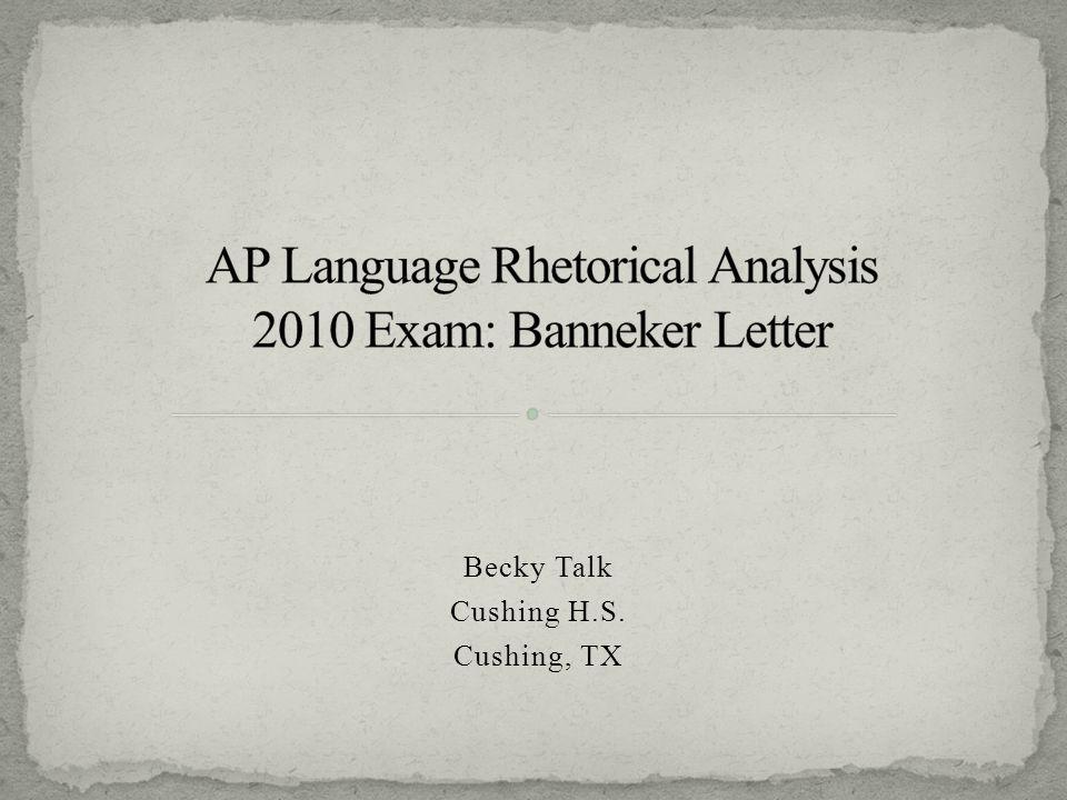 Ap english language 2010 sample essays