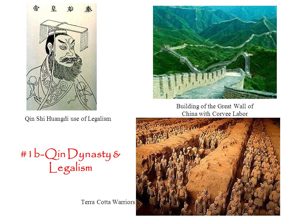 #1b-Qin Dynasty & Legalism
