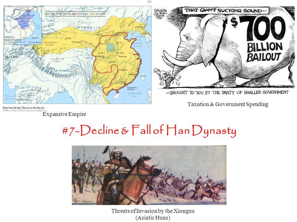 #7-Decline & Fall of Han Dynasty