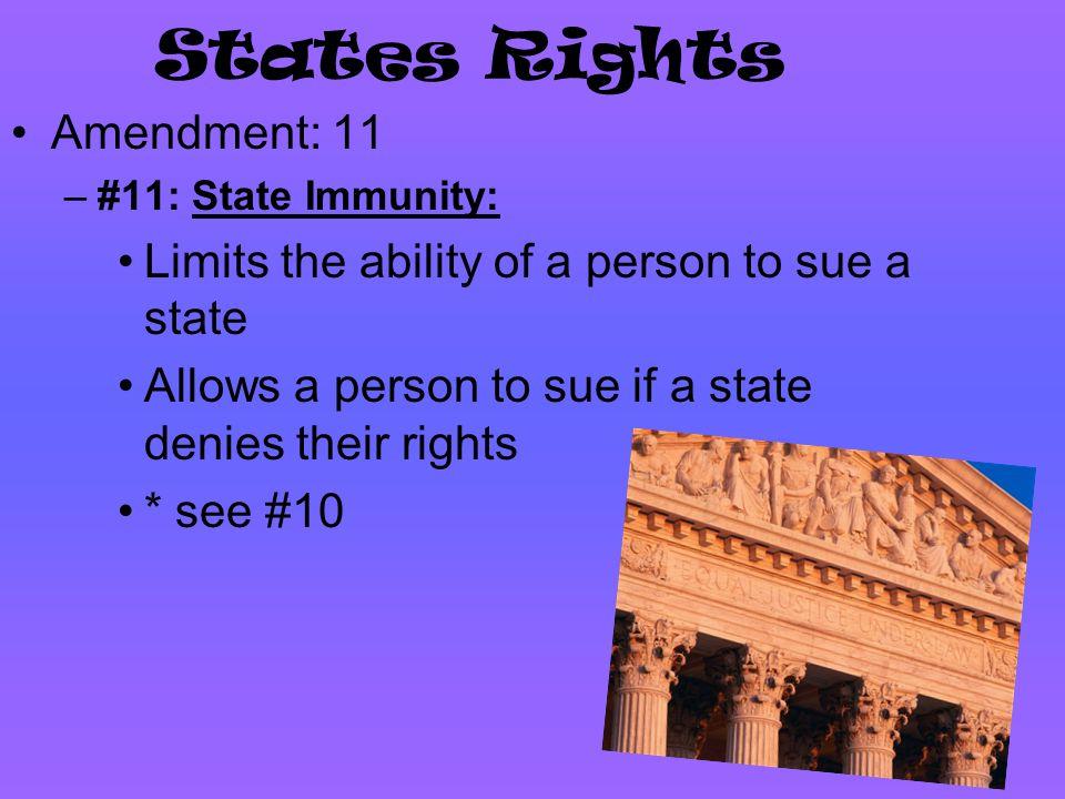 States Rights Amendment: 11