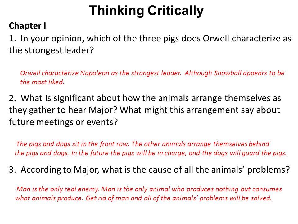 Thinking Critically Chapter I