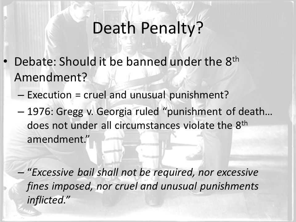 should death penalty be mandatory Should the death penalty be mandatory for all murderers - download as word doc (doc), pdf file (pdf), text file (txt) or read online.