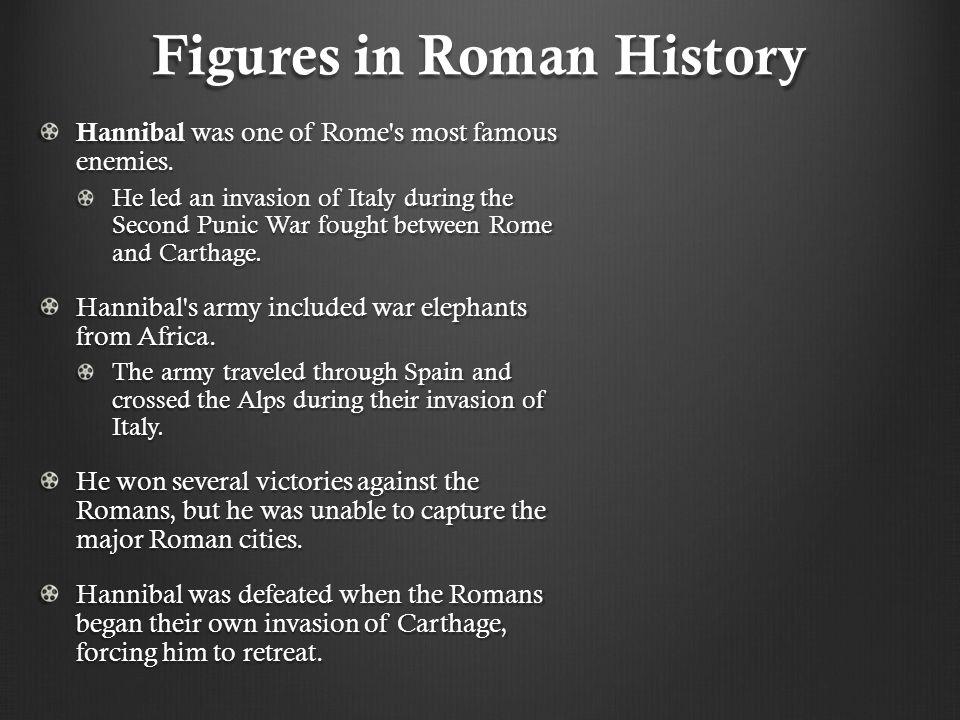 Figures in Roman History
